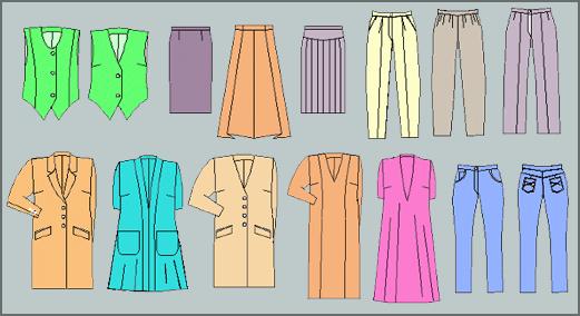 Moldes ropa para mujer
