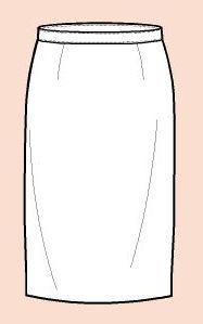 Falda con Pretina Normal